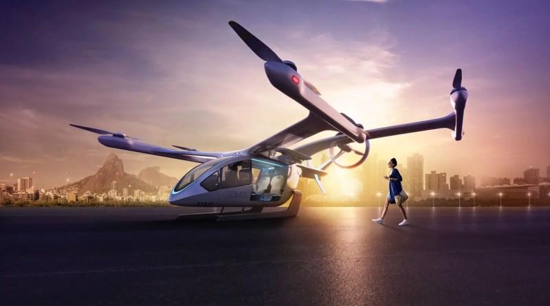 Embraer se prepara para testar carros voadores no Rio de Janeiro