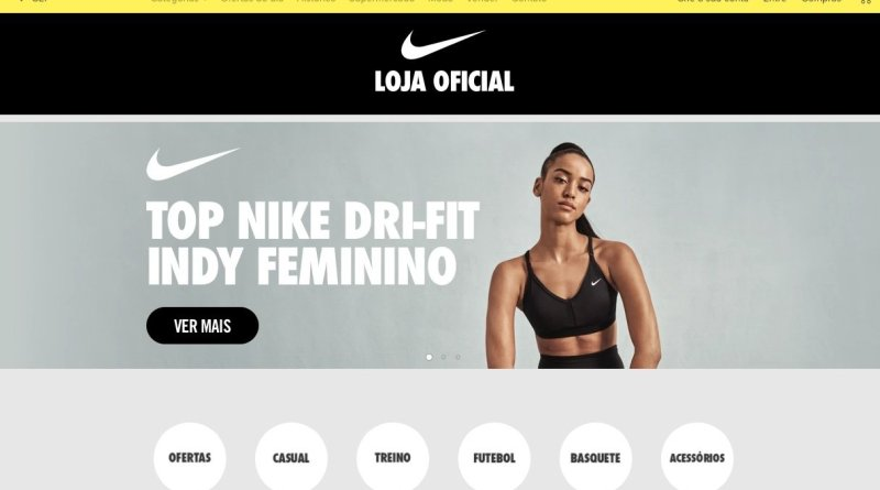 Nike inaugura loja oficial no Mercado Livre