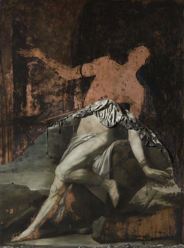 Nicola Samorì, Lieto Fine di un Martire, 2015