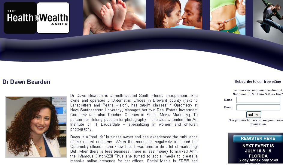 HealthAndWealthBioWithWebsiteHeader