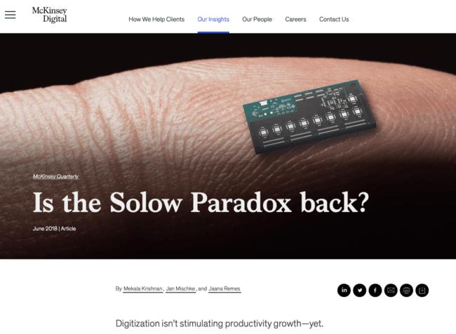 Paradoxe de Solow : le ROI du digital est-il vraiment en question ? #irev10x