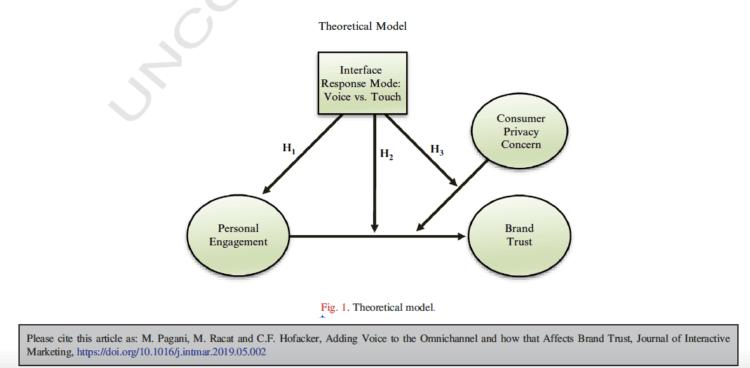 VUI Theoretical model