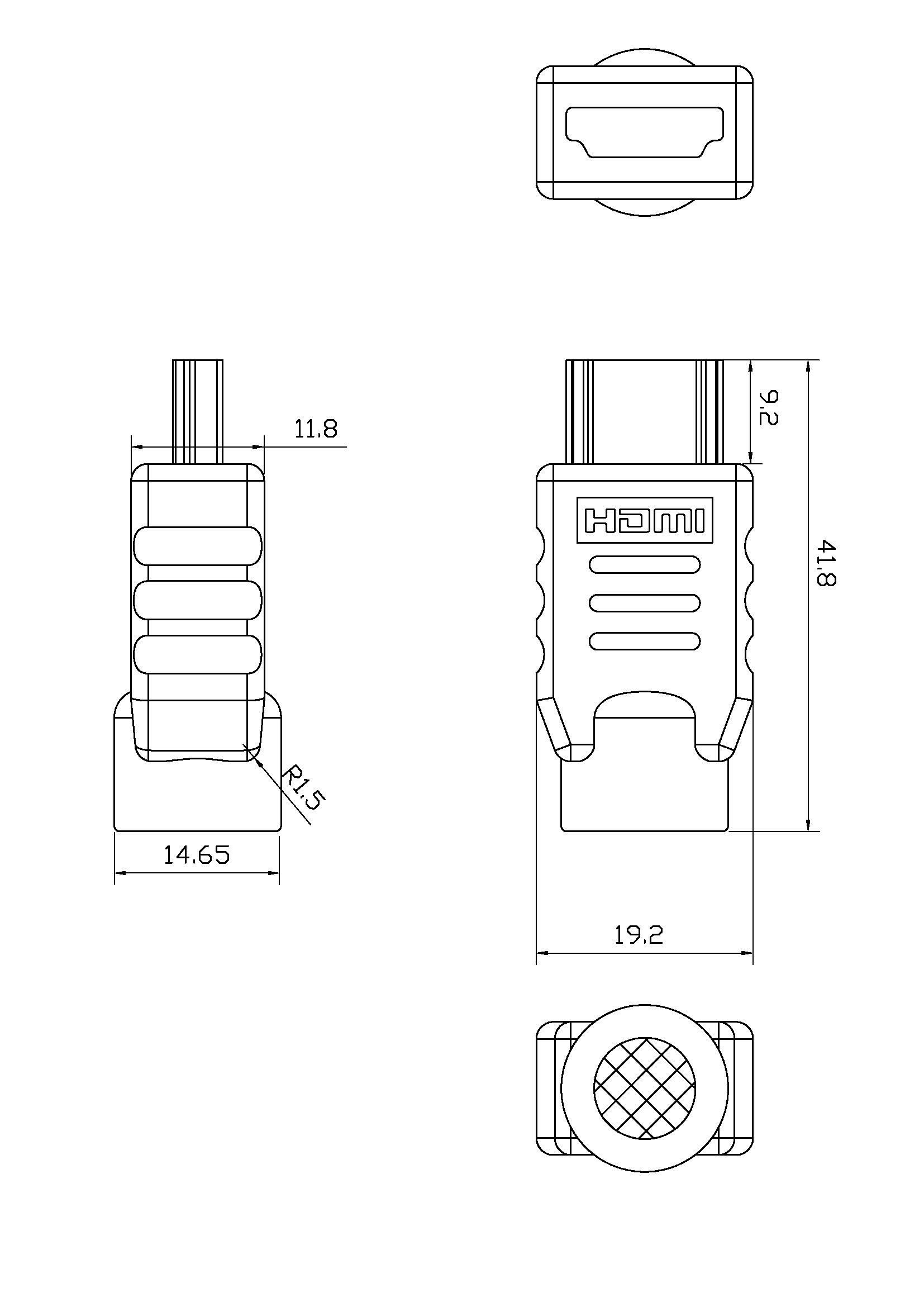 Wiring Diagram Hdmi Plug