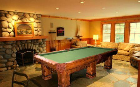 Grizzly Rustic Log Handmade pool Table by Vision Billiards