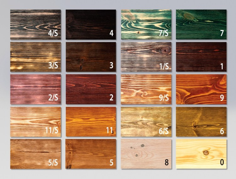 Rustic Log Pool Table Wood Finishes