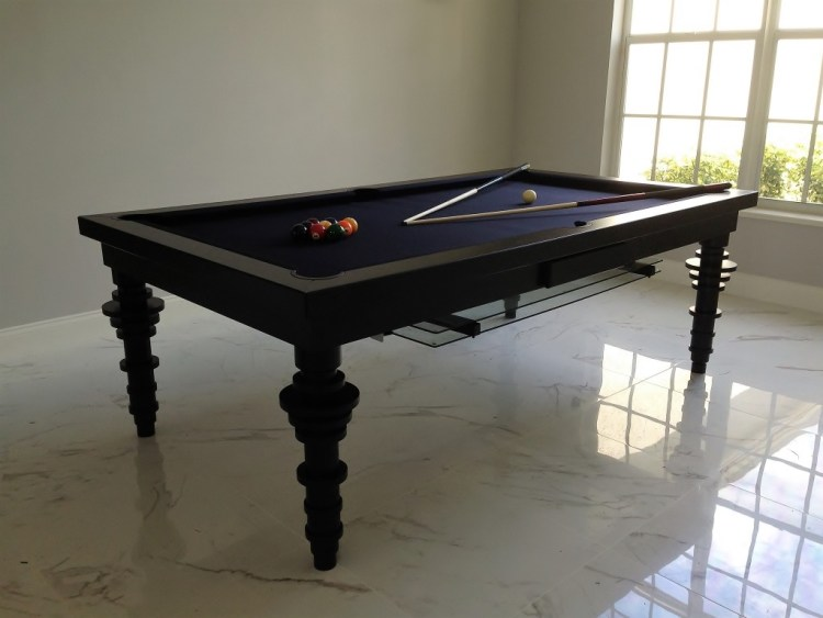 Toronto Convertible dining pool fusion billiard table by Vision Billiards