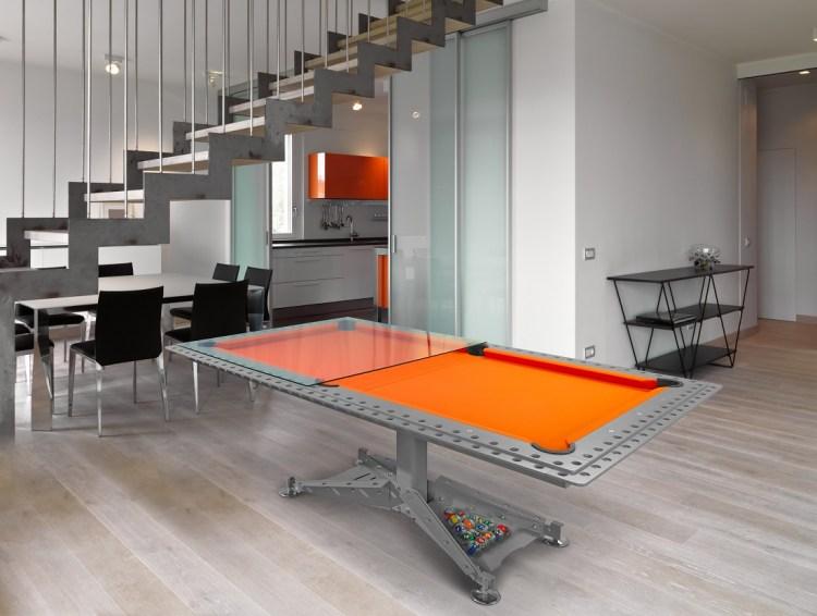 Industrial Modern Billiard table DECOTECH Vision Billiards