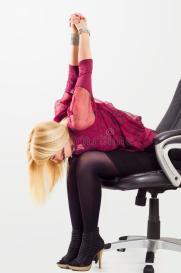 do stretching exercises - correct your slouching posture