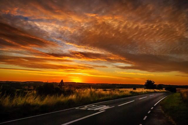 Slow sunrise!
