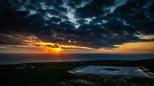 Sunset at St Agnes Head, Cornwall