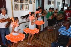 Música y danza interpretados por niños y jóvenes amenizaron el encuentro del Proyecto Cultural-recreativo Palabra Viva que desarrolla la UPEC en Holguín, el 6 de agosto de 2016. VDC FOTO/Luis Ernesto Ruiz Martínez.