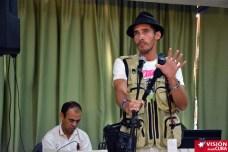 Reynaldo Cruz, bloguero y traductor holguinero, asiste al Primer Encuentro de Experiencias Mediáticas Alternativas, prmovido por el ICAP, efectuado en el Hotal Pernik de Holguín. VDC FOTO/Luis Ernesto Ruiz Martínez.
