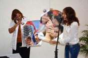 La UJC reconoce a Galina Galcerán Chacón, Diputada a la Asamblea Nacional del Poder Popular y Directora del Hospital Pediátrico de Holguín. 14 de febrero de 2017. UHO FOTO/Luis Ernesto Ruiz Martínez