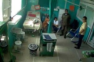 Anairis Miranda Leyva en el Hospital.