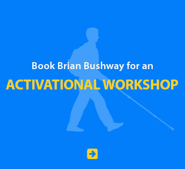 Book Brian Bushway for an Activational Workshop.