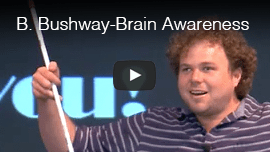 Video thumbnail: Brian Bushway speaks at Brain Awareness Week 2014 at The Center For Integrative NeuroScience at the University of Nevada-Reno.