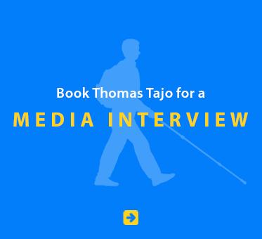 Book Thomas Tajo for a Media Interview