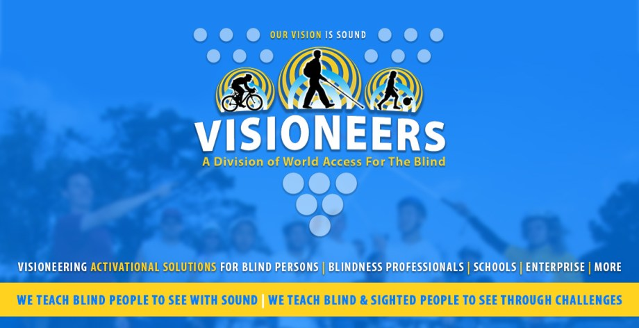 Visioneering Activational Solutions for Blind Persons | Blindness Professionals | Schools | Enterprise | More. We teach blind people to see with sound | We Teach Blind and Sighted People To See Through Challenges.