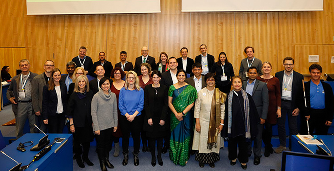 Group Photo of participants in the Zero Project-Ashoka Impact Transfer group.