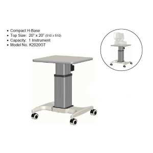 K2 Single Instrument Power Table