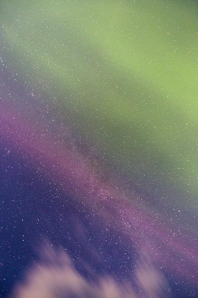 银河与极光