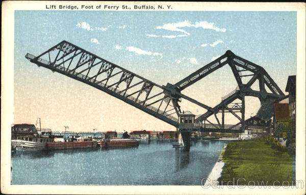 Lift Bridge, Foot of Ferry St. Buffalo, NY
