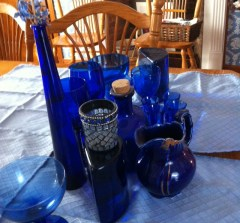 LIFE WITH BLUE GLASS