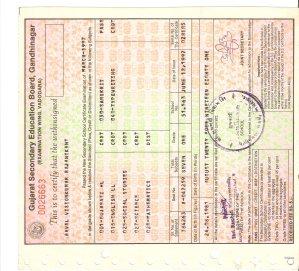 Credit certificate 10th1