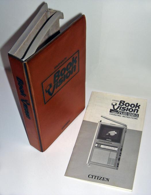 Citizen Bookvision 05TA Slip Case photographed November 13, 2010
