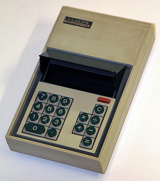 Lloyd's Accumatic 100 LCD Calculator 1972 Courtesy Keith Midson