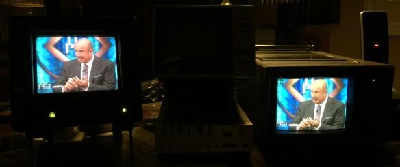 JVC TM-L450TU and Sony KV 5300 photographed September 26, 2014