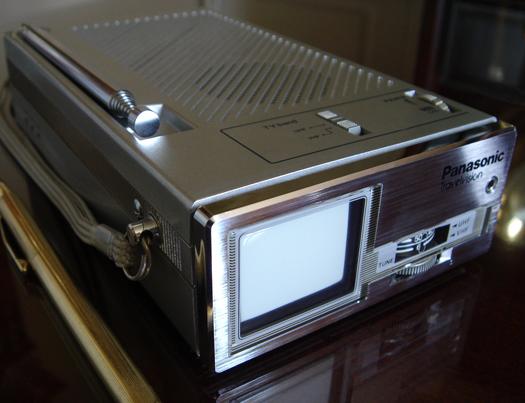 Panasonic Travlvision Model TR 1010P photographed April 20, 2010