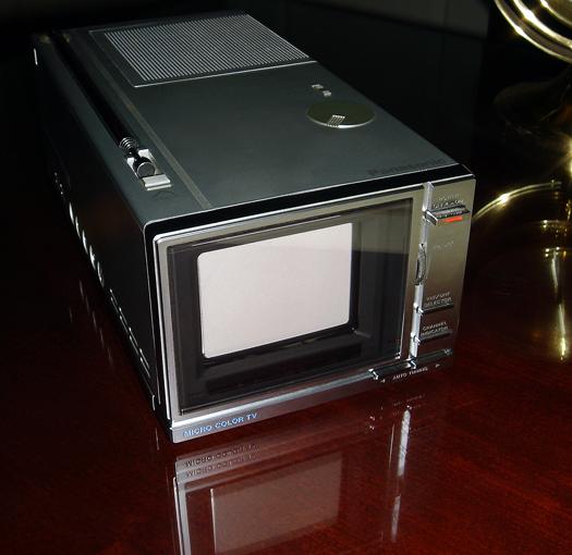 Panasonic CT-3311 photographed December 11, 2010