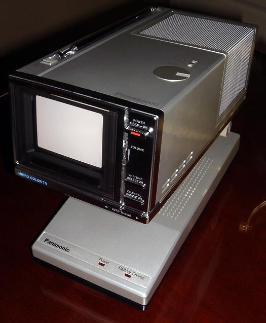 Panasonic CT 3311A photographed January 6, 2011