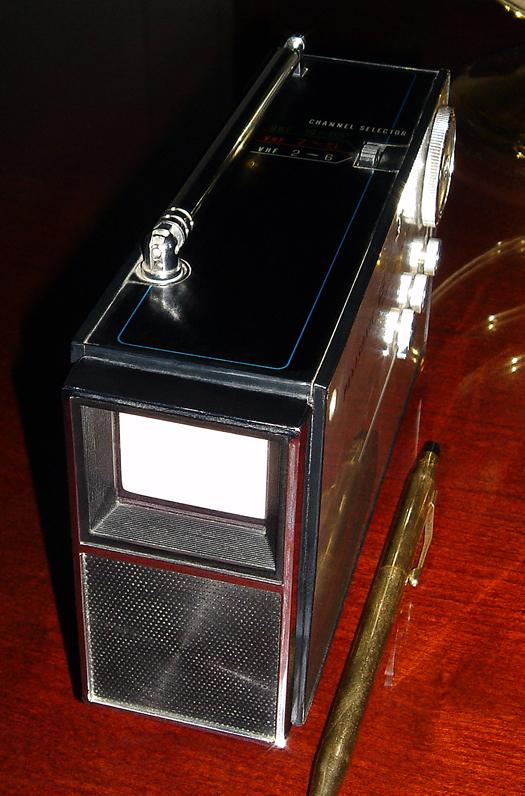 Panasonic TR 001 photographed September 25, 2010