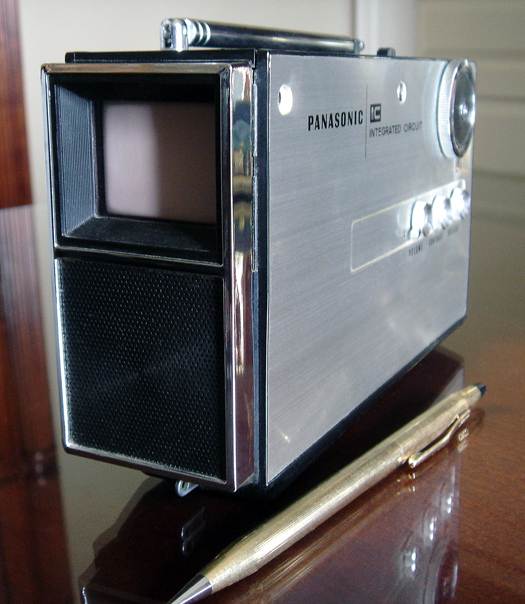Panasonic TR 001 photographed 2010