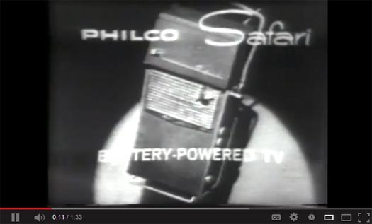 Philco Safari Commercial
