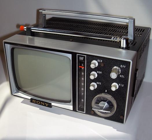 Sony Micro 5 307UW Black photographed April 12, 2011