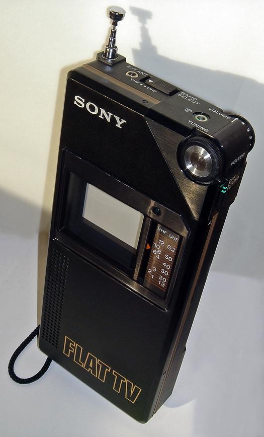 Sony FLAT TV FD 200 photographed January 9, 2012