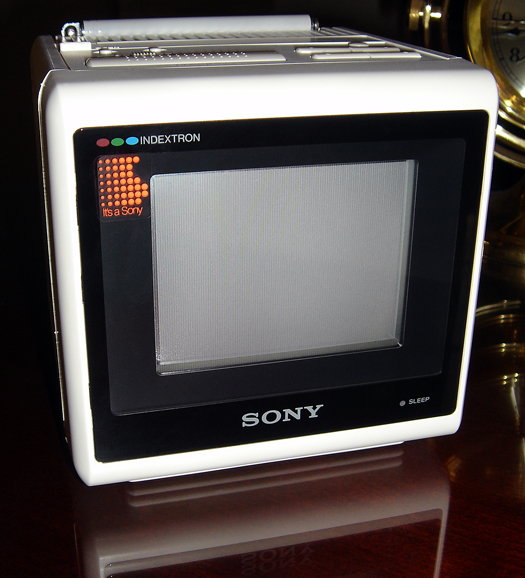 Sony KVX 370 photographed July 3, 2010