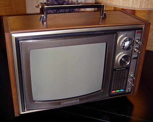 Sony KV 1212U photographed January 3, 2012