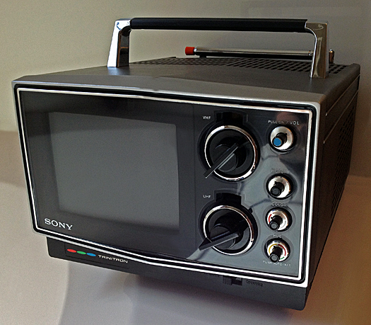Sony KV 5000 Trinitron photographed May 18, 2012