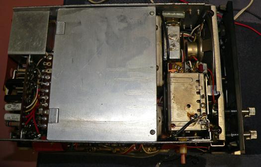 Sony KV 7010U inside 7