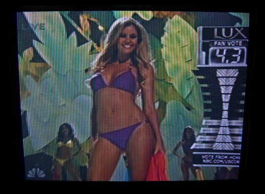 Sony KVX 370 Oversize Screen Shot photographed September 12, 2011