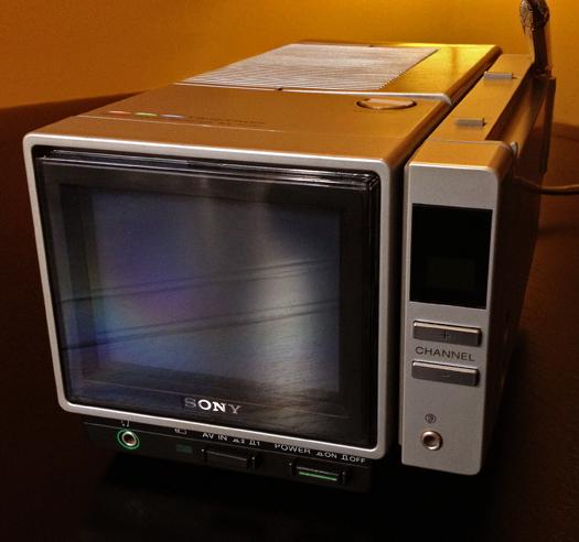 Sony KX 4200 Trinitron photographed December 28, 2012