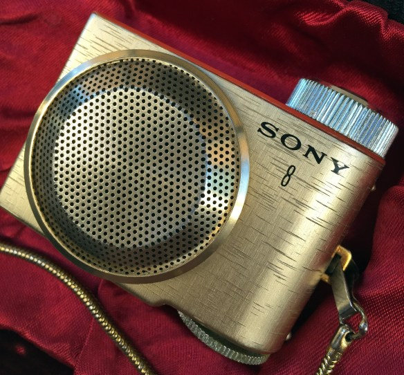 Sony TR-8 photographed November 28, 2014