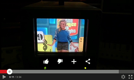 You Tube SS JVC Field Sequentiel Color TV 525 WP