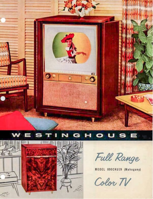 First Westinghouse Color Television Advertisement 1954