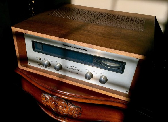 Marantz Model 20 Tuner photographed September 25, 2015