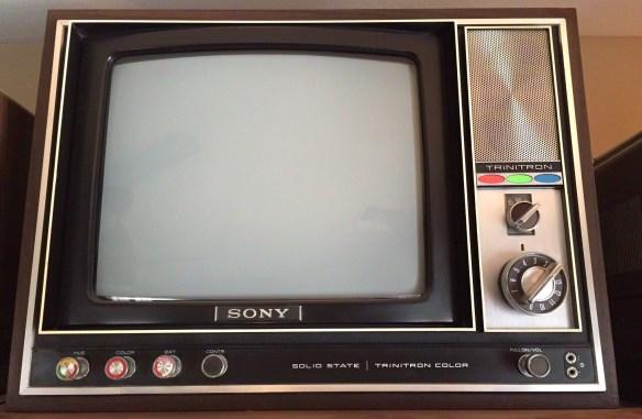 Sony KV 1210U photographed February 2, 2015